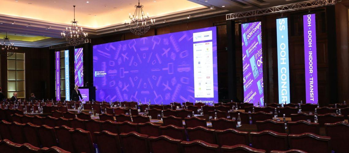14 стран-участников: Санкт-Петербургский международный медийный конгресс операторов наружной рекламы, обеспечение техническое в проведении мероприятия